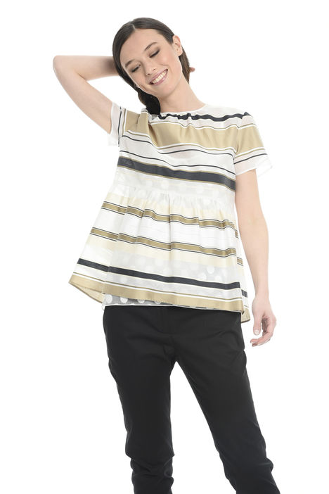 Blusa con top abbinato Intrend