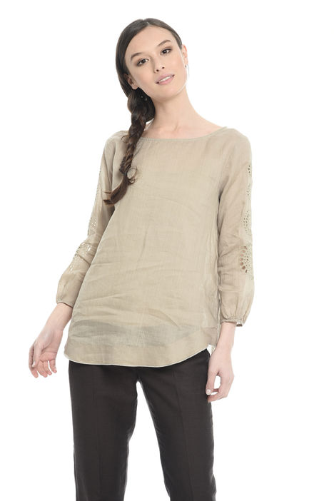 Blusa in tela traforata Diffusione Tessile