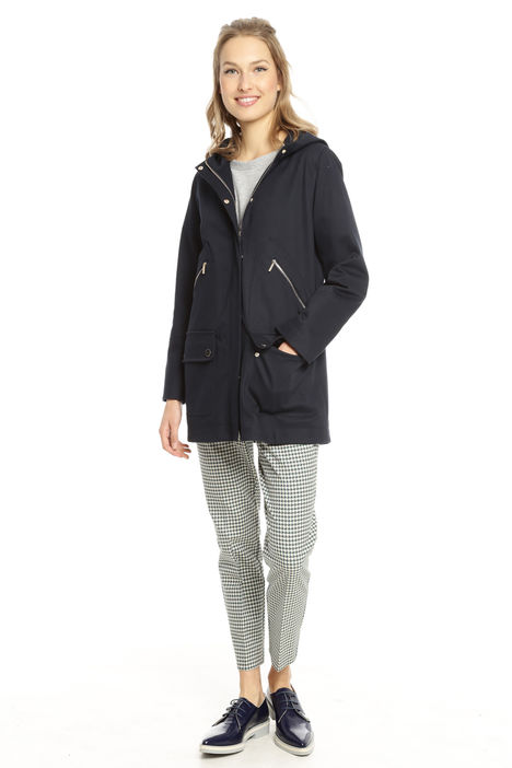 Parka in piquet di cotone Intrend