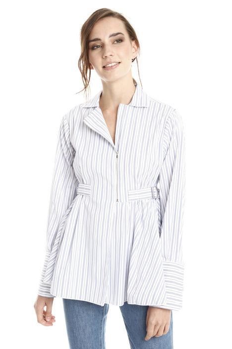 Camicia con zip Diffusione Tessile