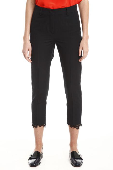 Pantaloni in faille di cotone Diffusione Tessile