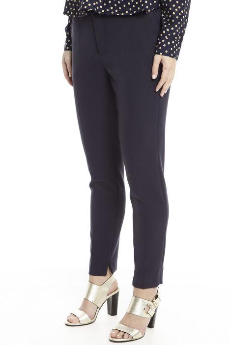Pantaloni in tessuto doppio Diffusione Tessile