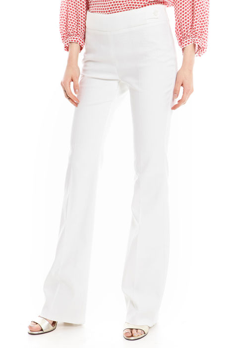 Pantalone stretch a zampa Diffusione Tessile