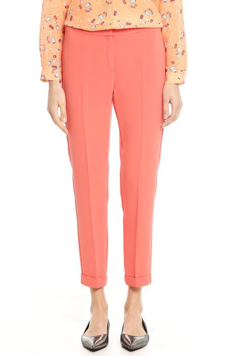 Pantaloni con risvolto Diffusione Tessile