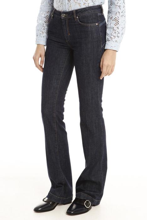Jeans a zampa aderente Diffusione Tessile