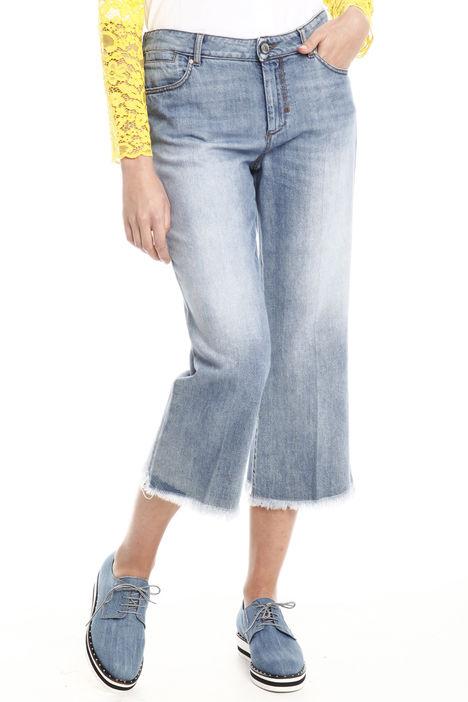 Jeans cropepd vita bassa Diffusione Tessile