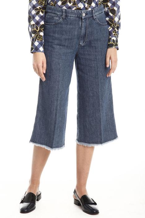 Jeans ampi cropped Diffusione Tessile