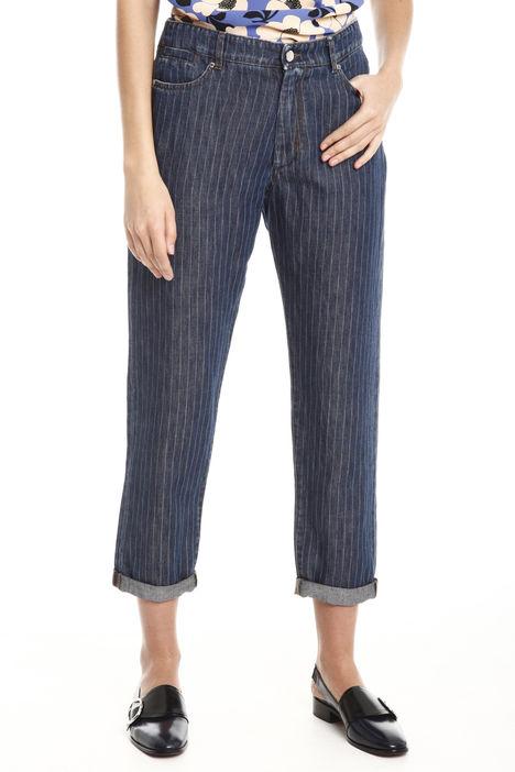 Jeans a righe Diffusione Tessile