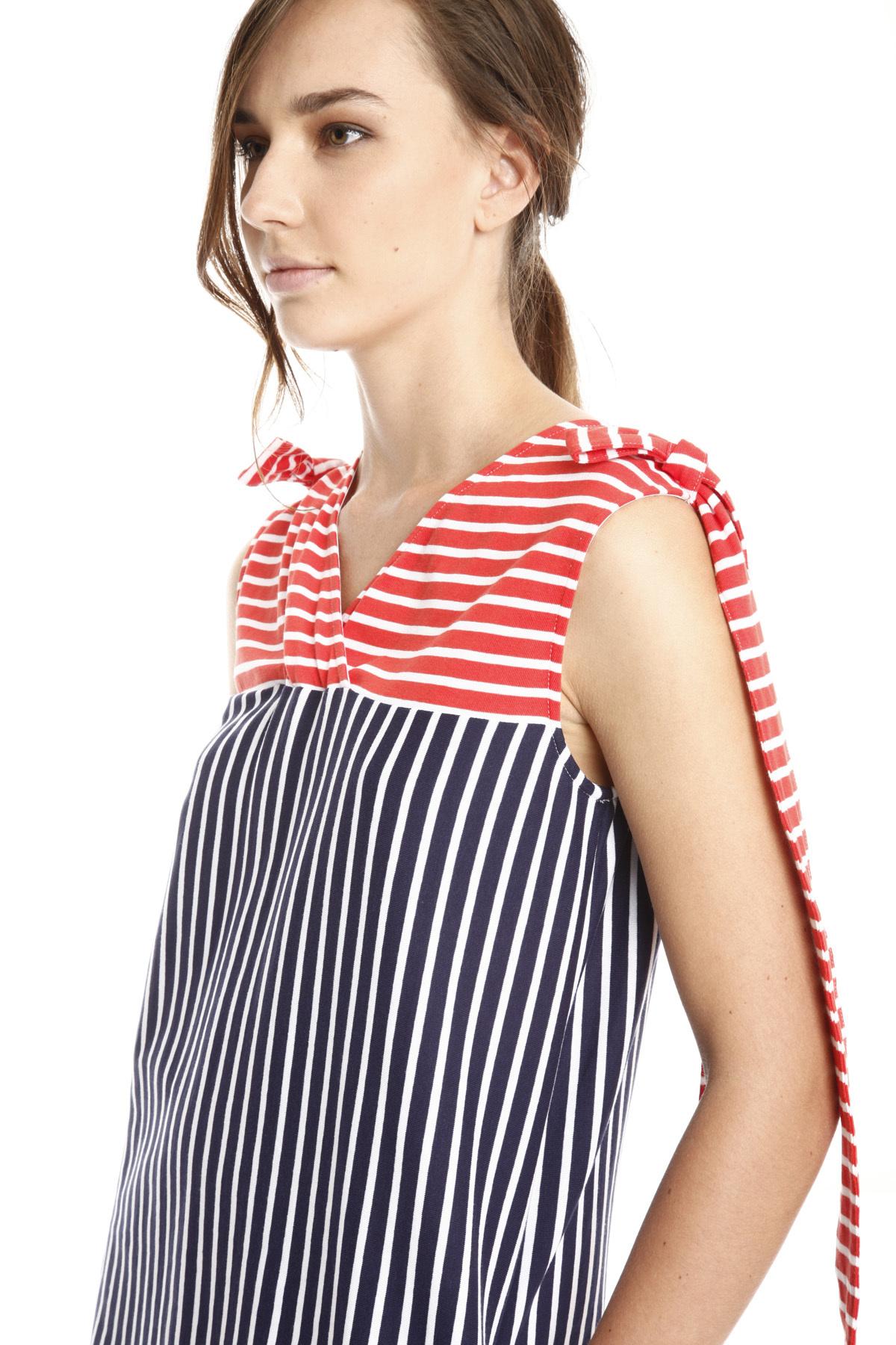 ... Abito rigato in jersey Diffusione Tessile. Home page · Abbigliamento ...