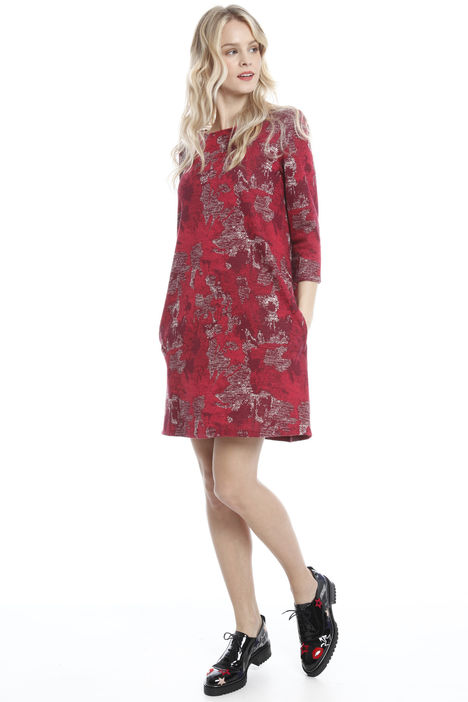 Abito in jersey jacquard Intrend
