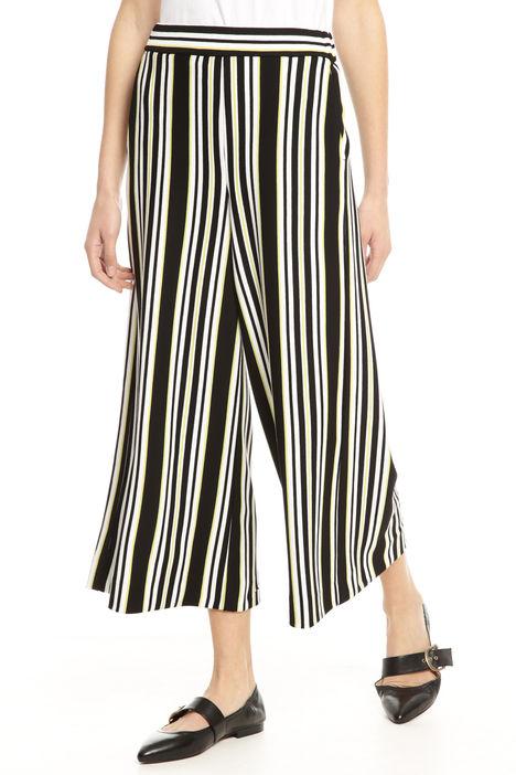 Pantalone cropped punto stoffa Diffusione Tessile