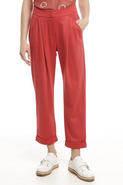Pantaloni in tessuto fluido Diffusione Tessile