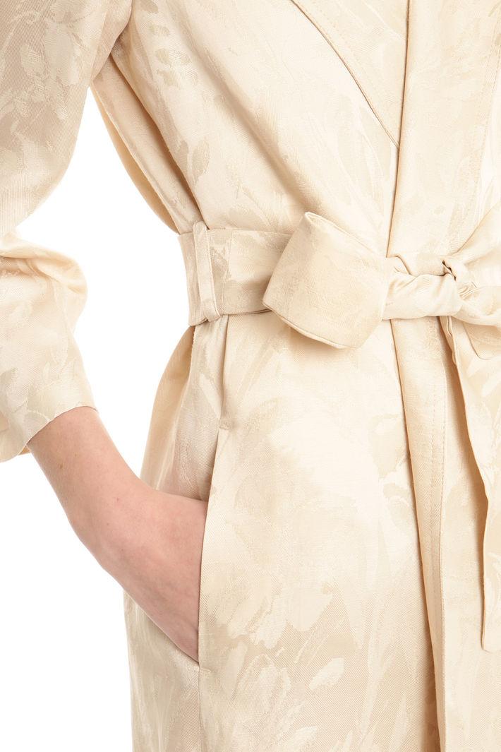 Soprabito in tessuto jacquard Fashion Market