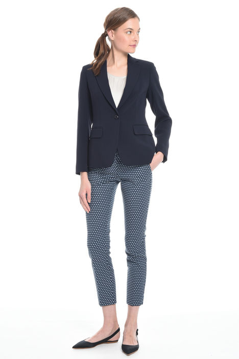 Blazer in cady di triacetato Intrend