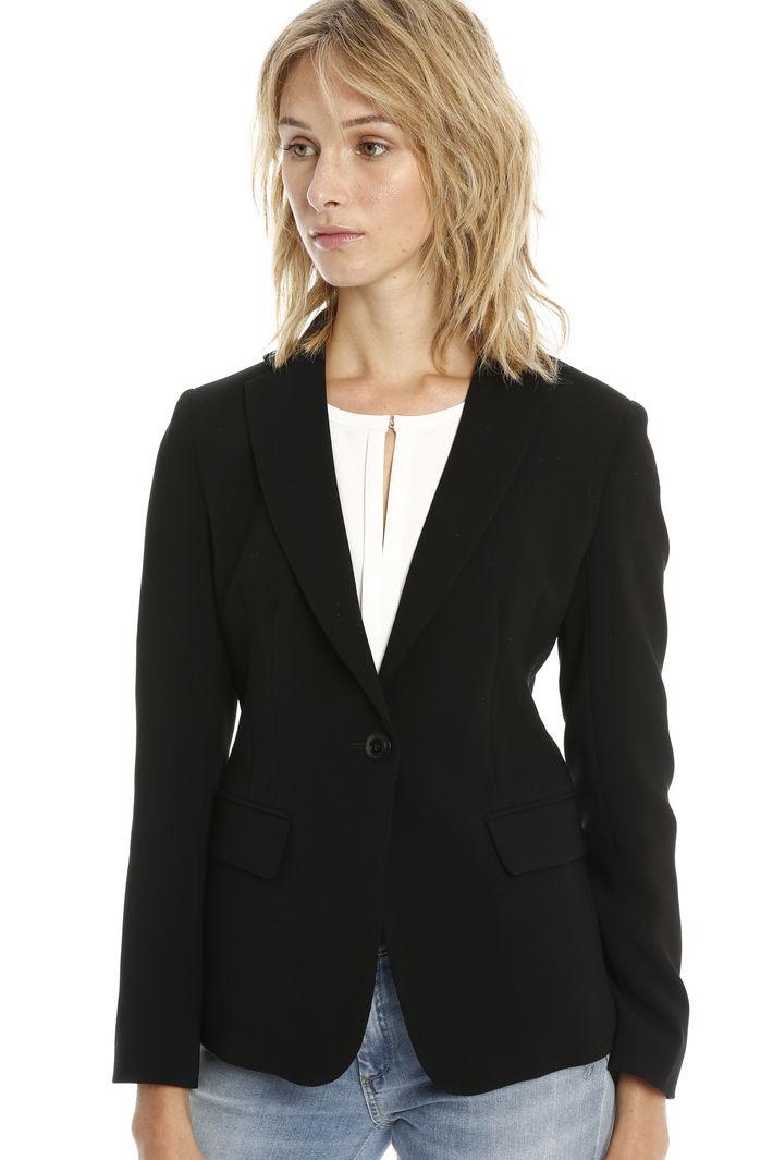 Blazer in cady di triacetato Fashion Market