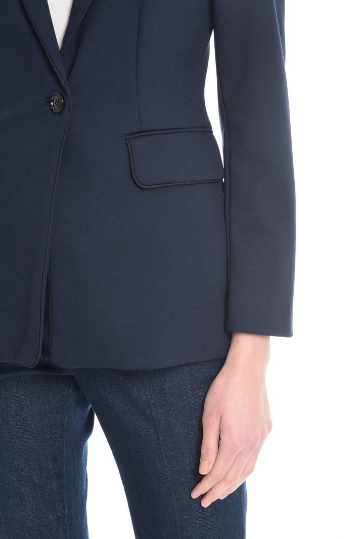 Blazer aderente in jersey Fashion Market