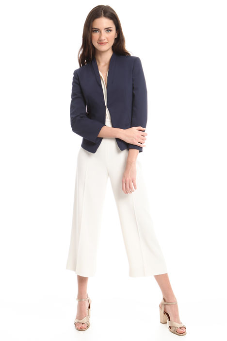 Blazer in coton stretch Intrend