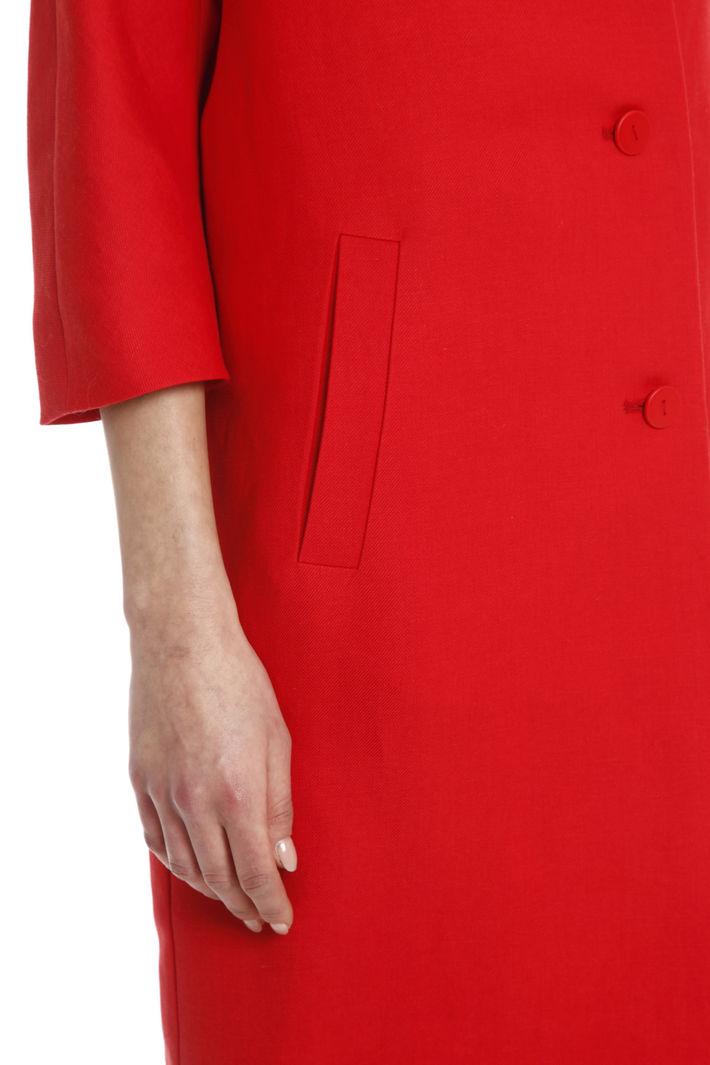 Spolverino in twill di lino Fashion Market