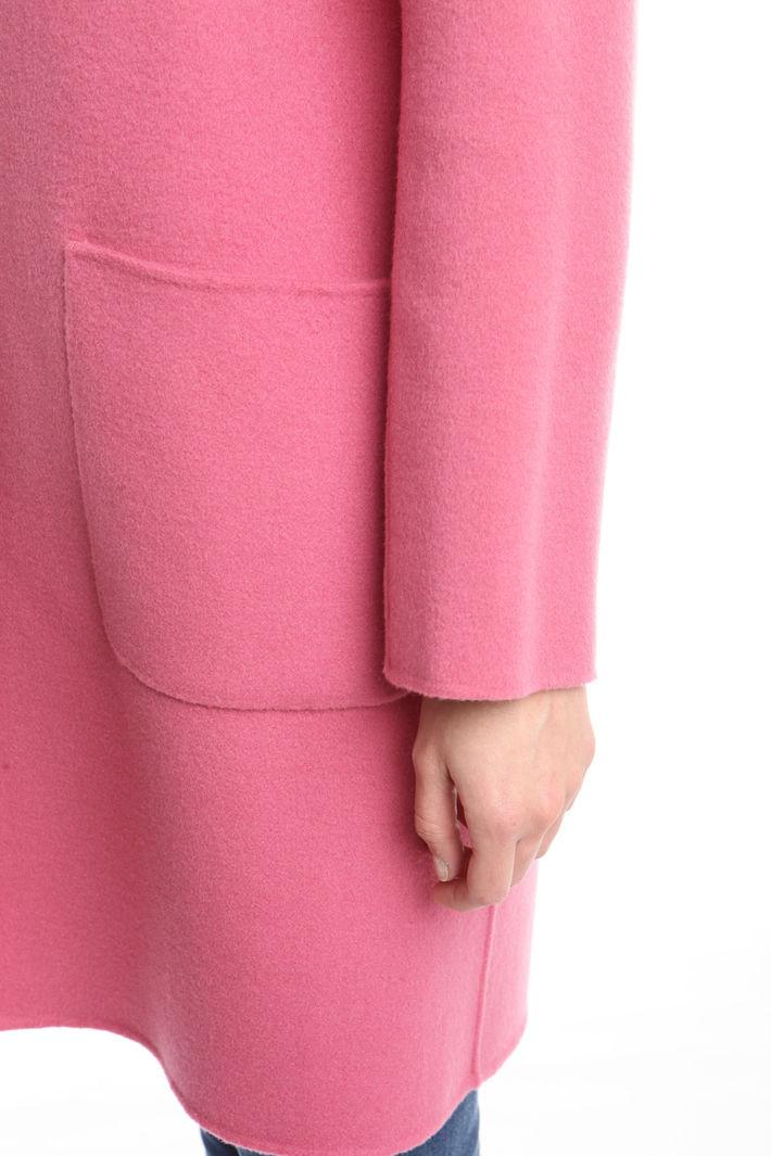 Cappotto con tasche applicate Diffusione Tessile