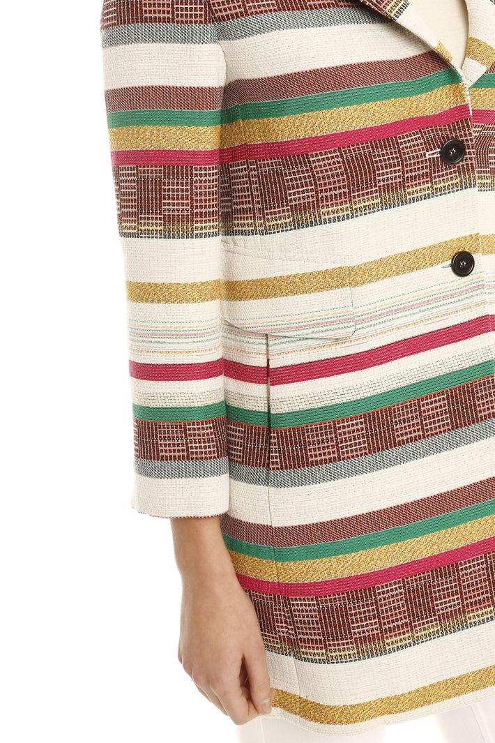 Giacca jacquard rigata Fashion Market