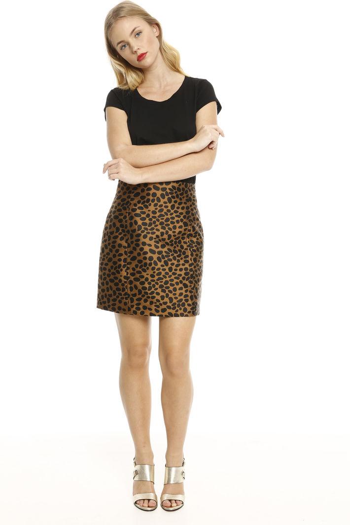 Minigonna in jacquard Fashion Market
