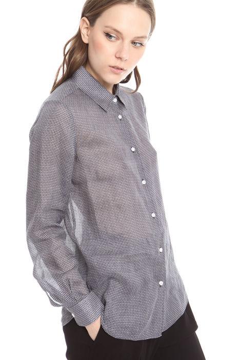 Camicia con fantasia Diffusione Tessile