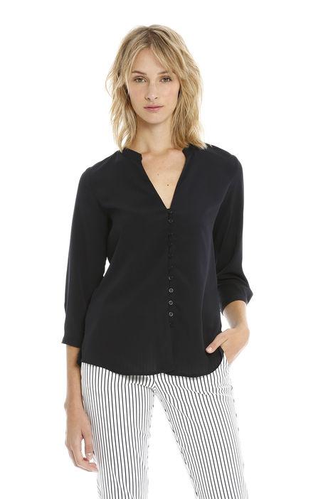 Camicia con scollatura Diffusione Tessile