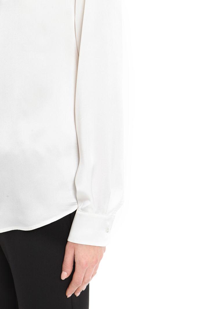 Blusa in raso con fiocco Fashion Market