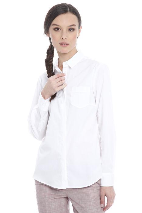 Camicia basic in cotone Intrend