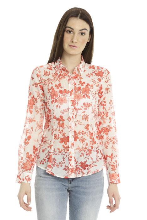 Camicia in cotone e seta Diffusione Tessile