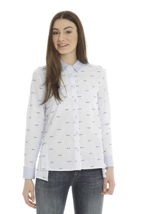 Camicia piccoli ricami Diffusione Tessile