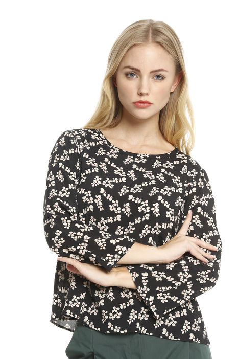 Blusa in viscosa stampata Intrend