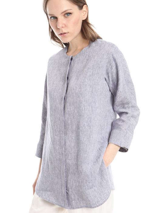 Camicia oversize in puro lino Diffusione Tessile