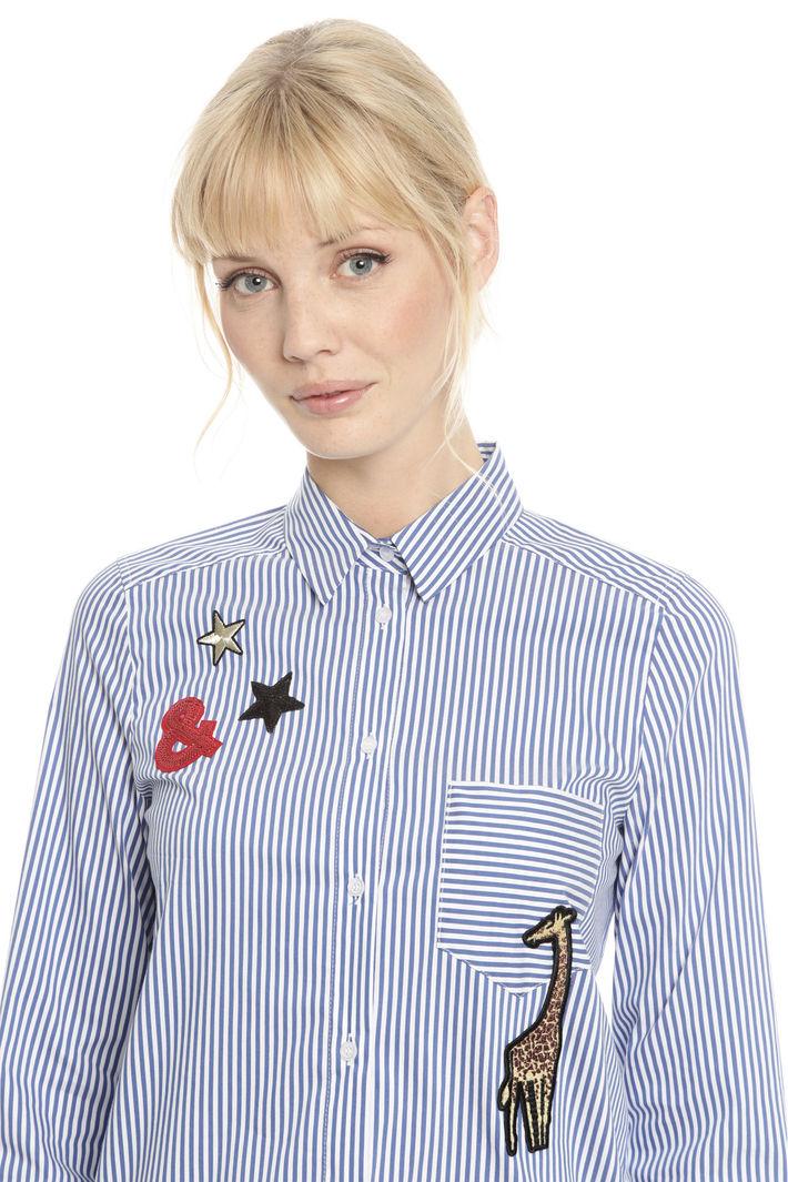 Camicia con patches Fashion Market
