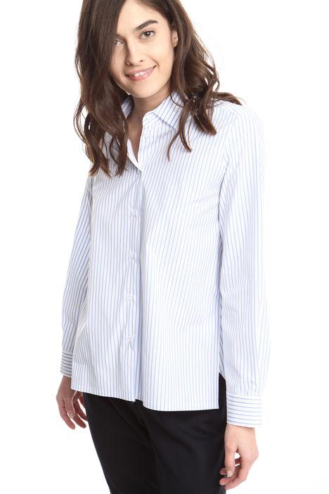 Camicia con spacchi laterali Diffusione Tessile