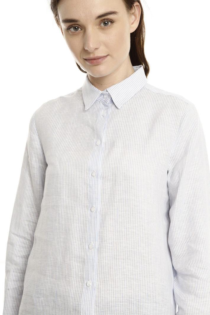 Camicia in lino rigato Fashion Market