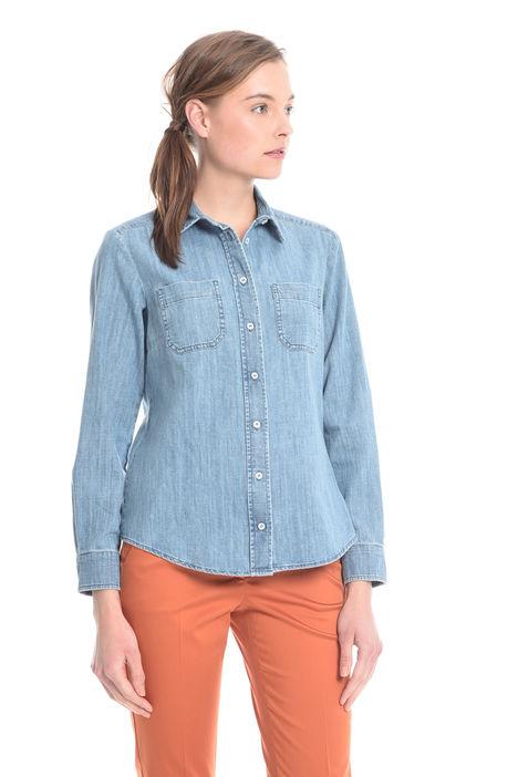 Camicia in denim di cotone Intrend