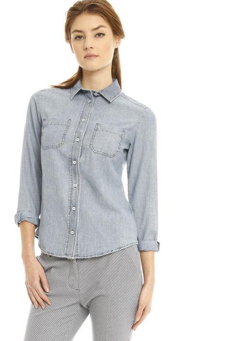 Camicia in denim di cotone Diffusione Tessile