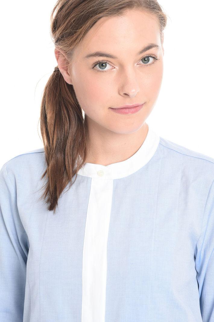 Camicia con pieghe sul fondo Fashion Market