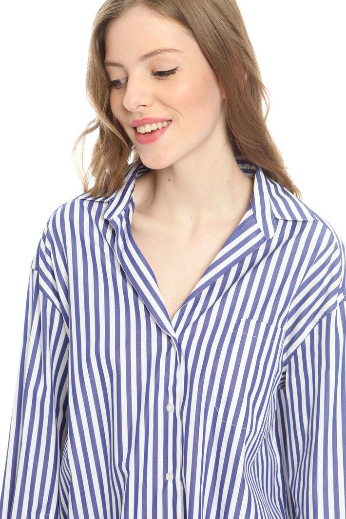 Camicia over in popeline di cotone Fashion Market