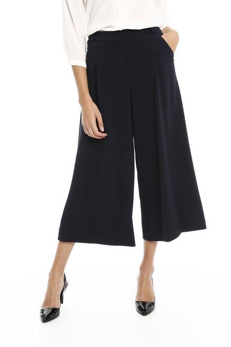 Pantaloni cropped fluidi Diffusione Tessile
