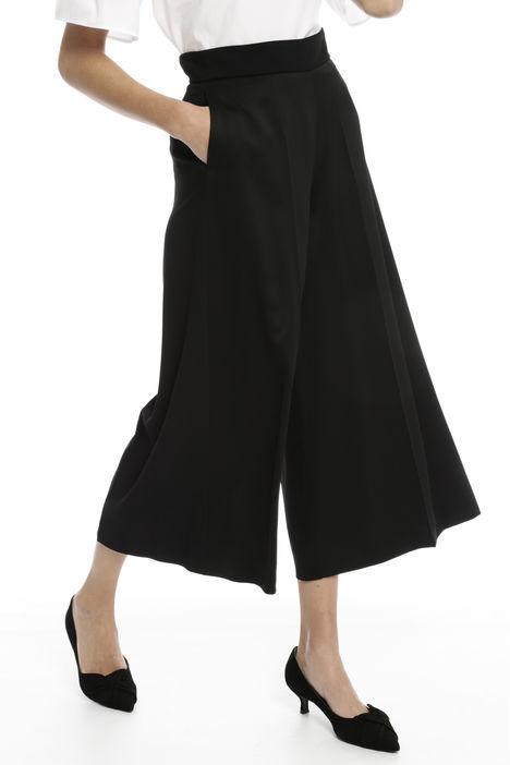 Pantalone cropped ampio Diffusione Tessile