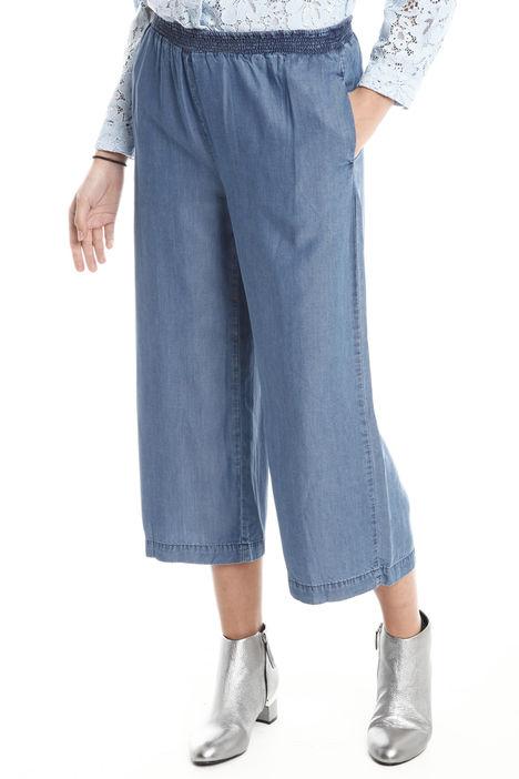 Pantaloni morbidi in tessuto Intrend