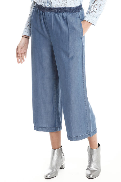 Pantaloni morbidi in tessuto Diffusione Tessile