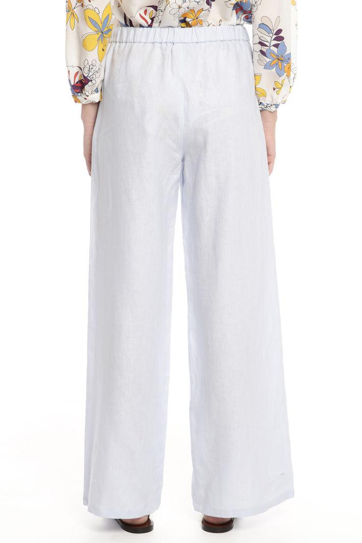 Pantaloni comfort in lino Fashion Market