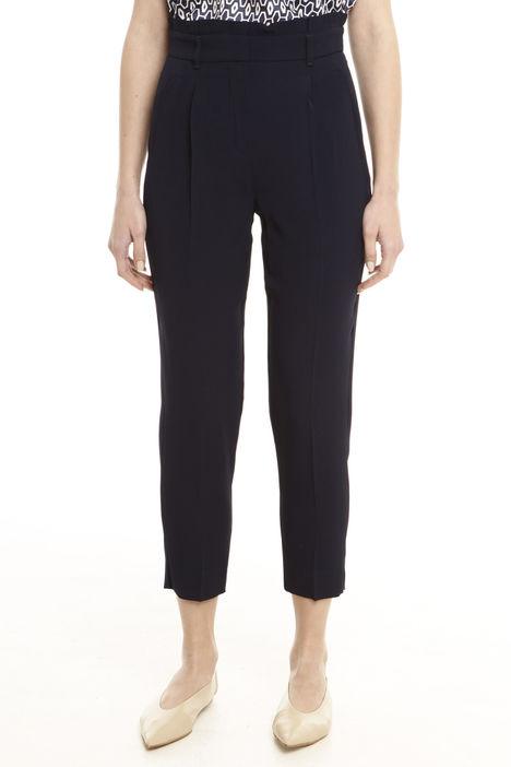 Pantalone alto con cintura Diffusione Tessile