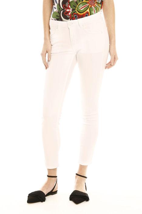 Pantaloni skinny in drill Diffusione Tessile