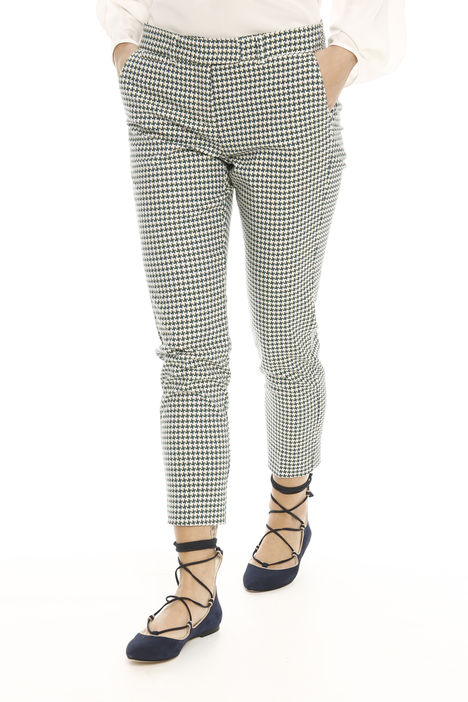 Pantalone lungo jacquard Diffusione Tessile