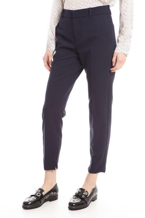 Pantaloni in cady con spacchi Intrend