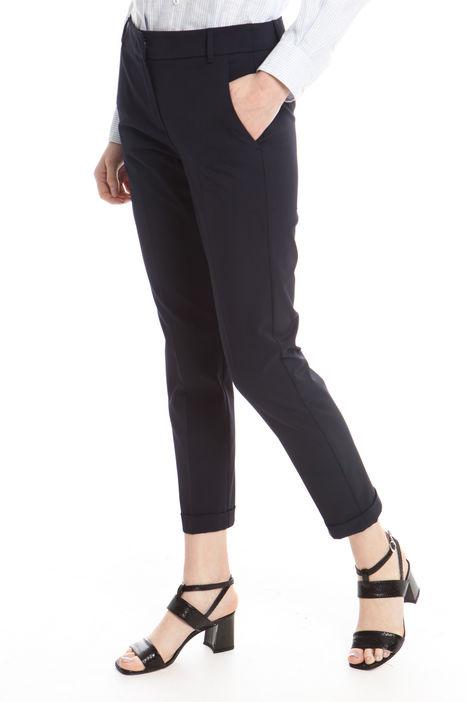 Pantaloni con risvolto Intrend